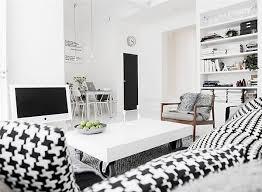 black white interior another black and white interior design