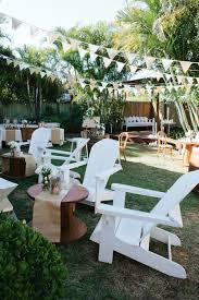 Modern Back Yard Brett U0026 Alexandra U0027s Surprise Backyard Wedding Nouba Com Au
