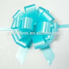 pull ribbon christmas decoration pull ribbon bow with printing fancy bow egg