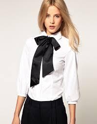 blouses with bows white blouse black bow by veronarmon on deviantart