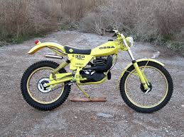 ossa tr 80 1979 350 cc motos antiguas pinterest 80