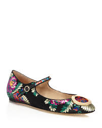 tory burch caterina brocade mary jane flats bloomingdale u0027s