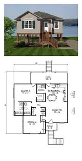 2 Bedroom Modern House Plans by 51 Best Coastal House Plans Images On Pinterest Coastal House