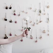 diy ombre dried flower wall juliette laura