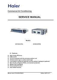 haier heater air conditioner manual all about air conditioner