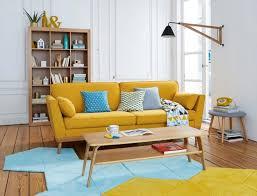 canapé jaune moutarde 19 idées déco de canapé jaune