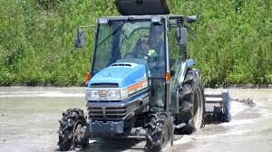 iseki tractor in action ii youtube