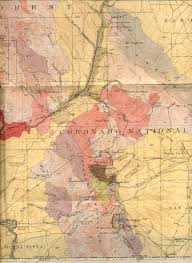 County Map Of Arizona by 19th Century Arizona Maps
