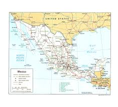 New Mexico State Map by 100 Mexico Maps Colima Mexico Tourist Map U2022 Mapsof Net