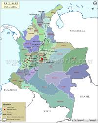 Italy Train Map by Colombia Rail Map Railway Map Of Colombia
