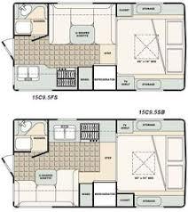 Tiny Home Floor Plans Free Micro Floor Plans Palomino Gazelle Micro Lite Travel Trailer