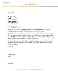 templates for a business letter business letter template template rq