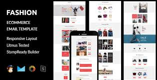 fashion ecommerce responsive email template stampready builder