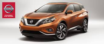 nissan murano vs xterra 2015 nissan murano standard features on s and sv models