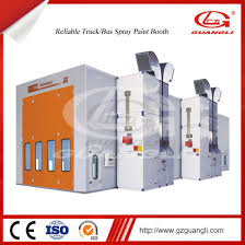 photo booth prices china reinforced steel made auto downdraft truck spray booth paint