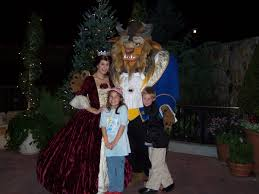 belle and beast at mickey u0027s very merry christmas party 2006