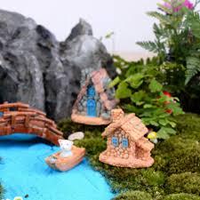 Cottage House amazon com trasfit 4 pieces miniature fairy garden stone house