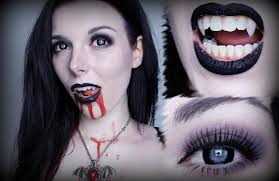 gothic vampire make up tutorial halloween youtube