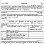 business requirement templates business requirements template