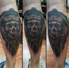 50 calf tattoos for below the knee