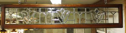 antique stained glass transom window leaded glass windows transoms pasadena architectural salvage