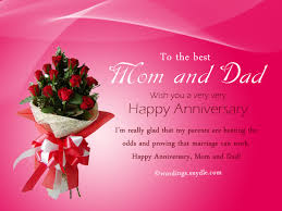 wedding wishes to parents wedding anniversary messages for parents wordings and messages