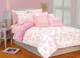 Ideas For Toile Quilt Design Bedroom Beautiful Toile Bedding Design With Pink Pattern Sheets