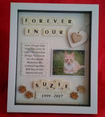 cat memorial pet cat memorial personalised box frame keepsake
