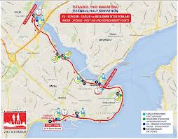 Istanbul World Map by Istanbul Half Marathon World U0027s Marathons