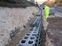 bloc de pierre pour mur bloc de béton creux pour mur de soutènement apparent