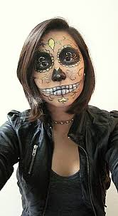 Fashion Halloween Makeup by Halloween Makeup Dia De Los Muertos Style By Ellypembo On Deviantart