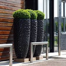 Ikea Outdoor Planters by Best 10 Black Planters Ideas On Pinterest Outdoor Flower