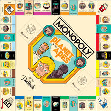 Termina Map Monopoly Planet Of The Apes Usaopoly