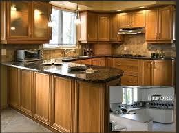 Kitchen Cabinet Refinishing Kits Kitchen Cabinet Refacing Before And After Kitchen Cabinet