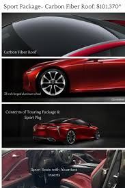 north park lexus san antonio jobs sport package with carbon roof one option for the 2018 lexus lc