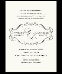 Examples Of Invitation Cards Wedding Invitation Examples Marialonghi Com