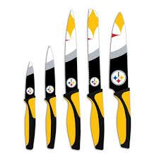 Pittsburgh Steelers Bathroom Set Pittsburgh Steelers 5 Piece Cutlery Knife Set