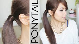 find a hairstyle using your own picture hair wrapped ponytail no bobby pins hairstyle hair tutorial