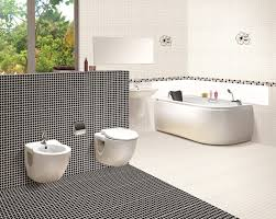 Pink Tile Bathroom Ideas Lovable Dark Mosaic Tile Floor Pattern For Traditional Looking