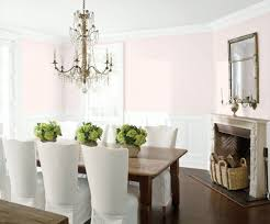 Dining Room Wall Paint Blue Benjamin Moore U0027s Pink Bliss Gives This Dining Room Old World Charm