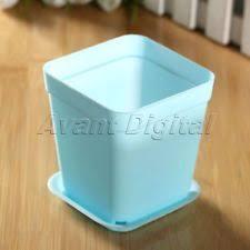 Square Plastic Planters by Unbranded Plastic Square Garden Planters Boxes Ebay