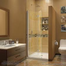 half glass shower door for bathtub best shower