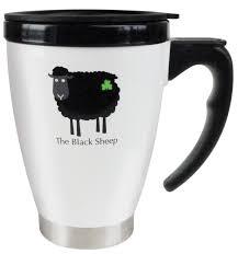 travel mug travel mug with handle black sheep collection