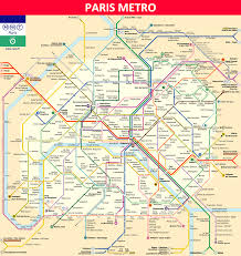 Subway Station Map by Paris Metro Maps Timetables Tourist Information