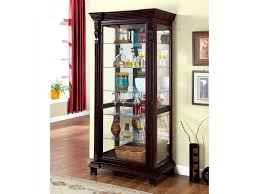 cherry curio cabinets cheap tulare dark cherry curio shop for affordable home furniture decor