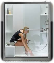 tub with glass shower door guide to the best sliding shower doors u2013 framed u0026 frameless