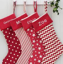 luxury personalised christmas santa stocking personalised