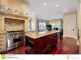 interior design collection kitchen island with wooden finish for