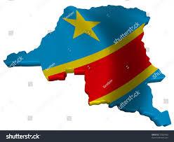 Republic Of Congo Map Flag Map Democratic Republic Congo Stock Illustration 73326490