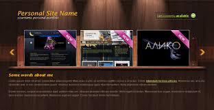 woody portfolio free portfolio template chocotemplates